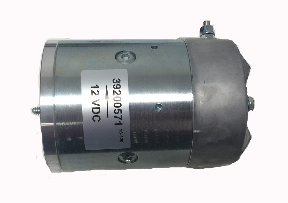 Replacement motor for MTE hydraulic power units