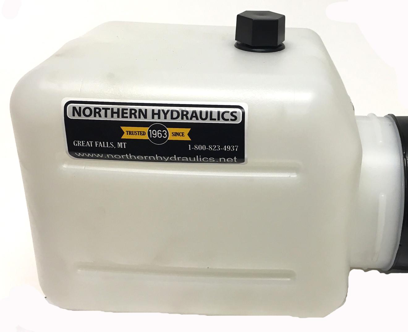 MTE hydraulic reservoir tank