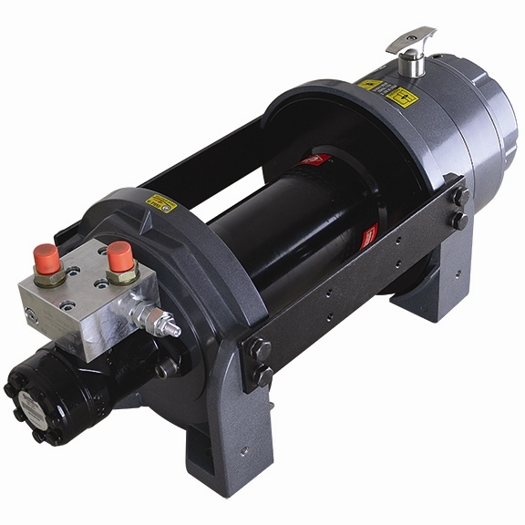 Pierce Planetary Hydraulic Winch