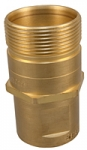 "1-1/4"" Wing Coupler, S511-10 Male Tip Half"